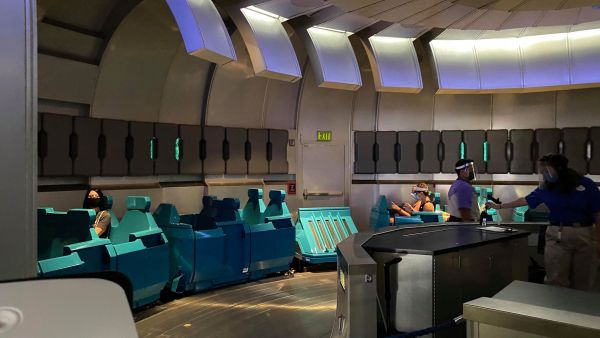 Social Distancing Measures in place for Spaceship Earth 3