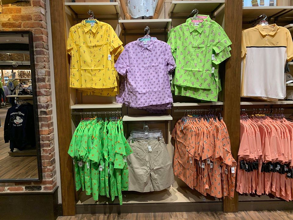 Colorful New Disney Button-Down Shirts Have Stylish Character