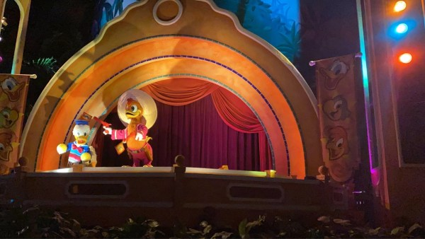 Epcot's Gran Fiesta Tour is missing a Caballero 1