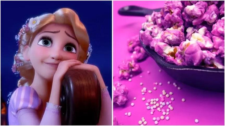 Rapunzel's Purple Popcorn Recipe!