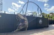 Universal's Jurassic Park Roller Coaster Construction Update