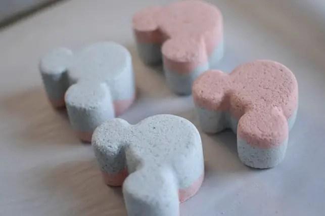 Disney Magic at Home: Make Your Own Mickey Bath Bombs