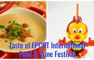 First Look at the Menu at Taste of EPCOT International Food & Wine Festival