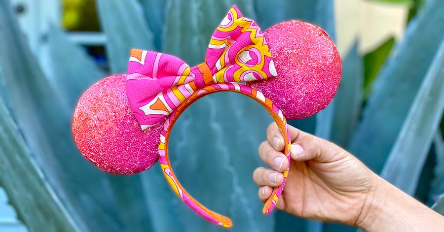 Trina Turk Minnie Mouse Ears Make Their Glittering Debut Soon