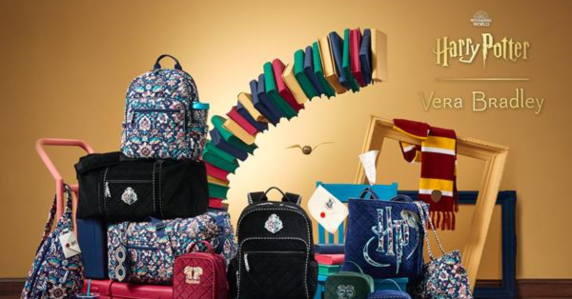 The Vera Bradley Harry Potter Collection Has Cast A Spell On Us