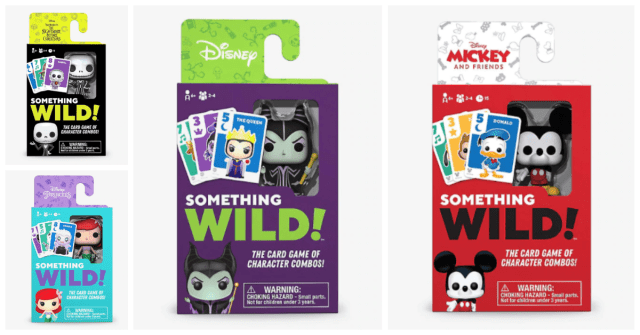 New Funko Disney Card Games Get Bring The Fun With Something Wild! 1
