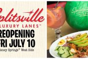 Splitsville in Disney Springs reopening on July 10th