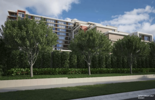 First look at the Disney Vacation Club Tower Coming to Disneyland Hotel 2