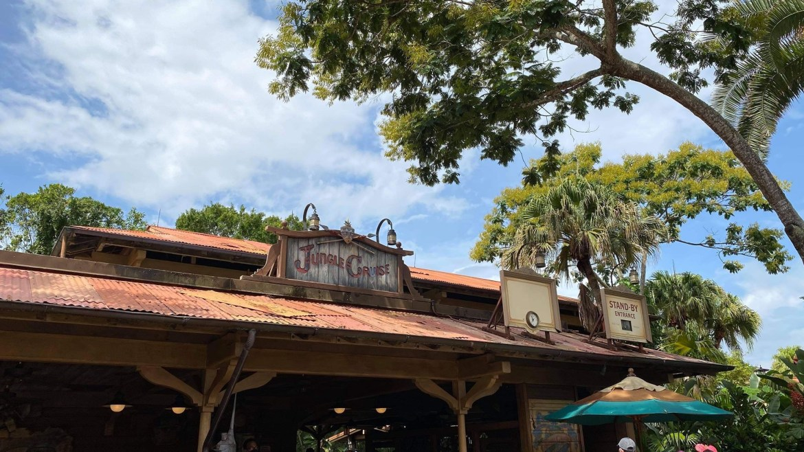 Social Distancing Measures In Place On The Jungle Cruise
