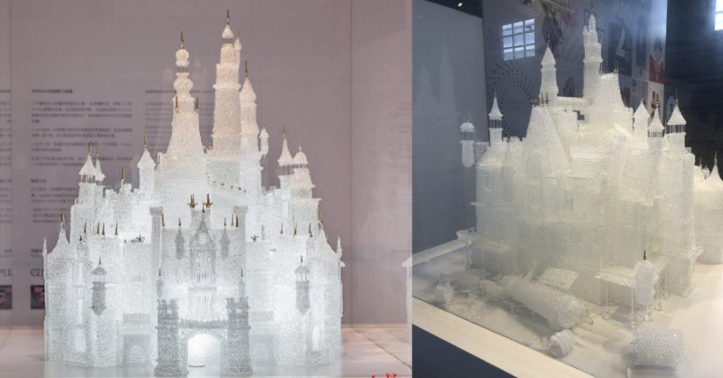 Kids Accidentally Break $64,000 Glass Cinderella Castle By Arribas Bros