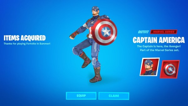 New Leak Reveals Captain America May be Coming to Fortnite 1