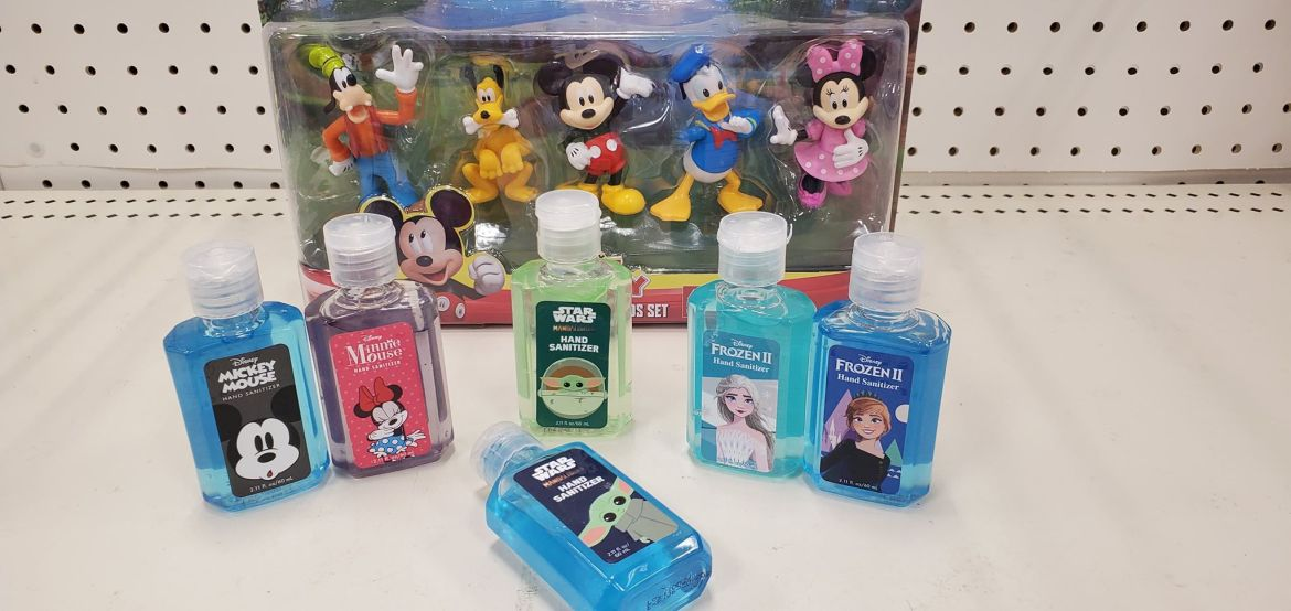 Disney Character Hand Sanitizers Now Available at Target!