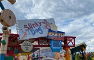 Social Distancing Measures On Slinky Dog Dash At Hollywood Studios
