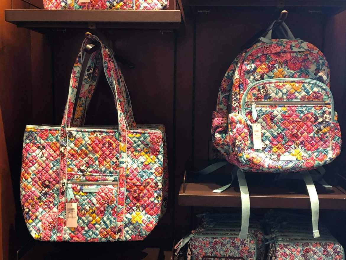 Vera Bradley Floral Collection Blooms in the Magic Kingdom