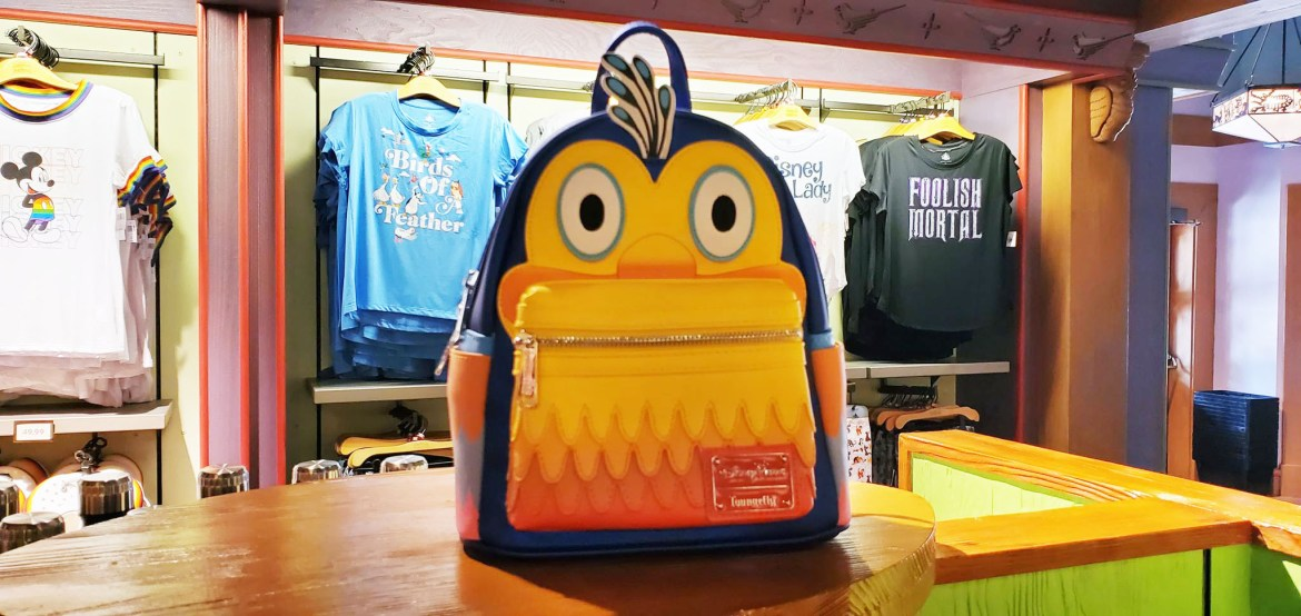 New Kevin Loungefly Backpack Has Us Flapping Our Feathers!