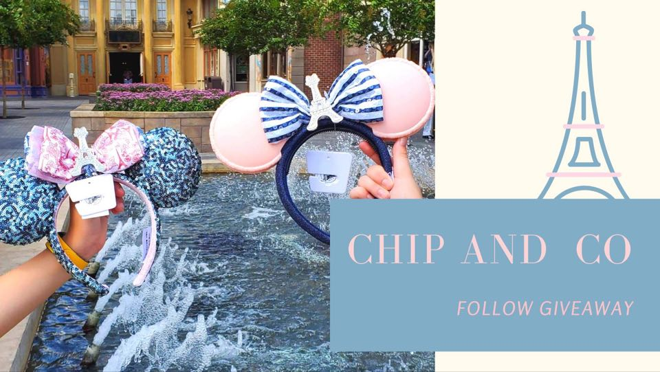 Chip and Co Follower Epcot France Minnie Ears Giveaway