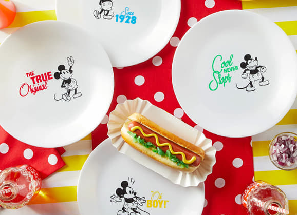 Mickey Mouse Corelle Dishes Coming To Our Tables Soon