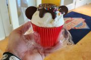 Mickey Sundae Cupcake Available At Walt Disney World!