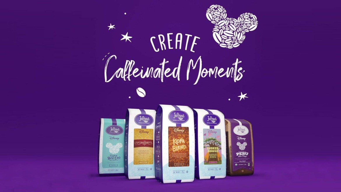 Try this at home -Disney Specialty Coffee Collection by Joffrey's Coffee