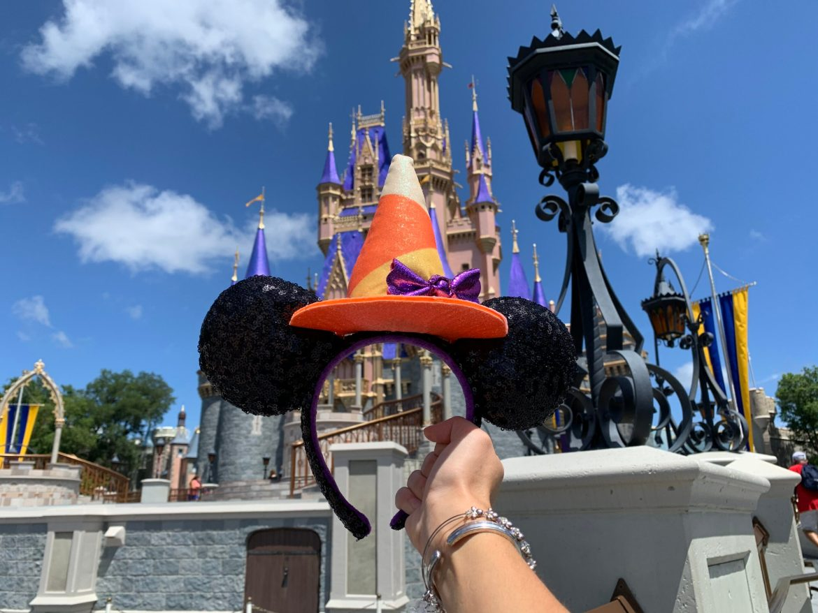 Minnie Mouse Halloween Witch Ears Have Been Conjured Up at Walt Disney World