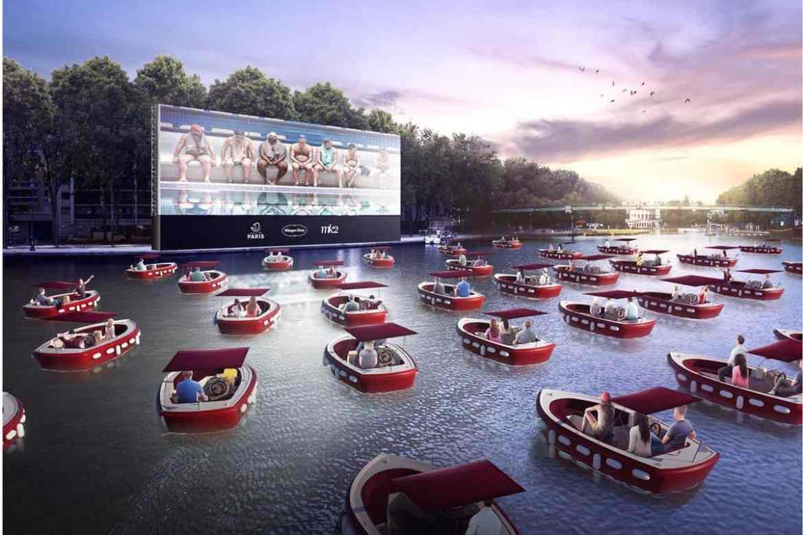 Floating Drive-In Movie Theaters coming to Major Cities across the US
