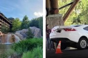 Parking Mishap at Disney's Wilderness Lodge