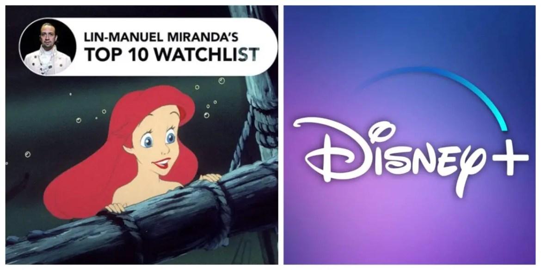 Lin-Manuel Miranda's Top 10 Disney+ Playlist