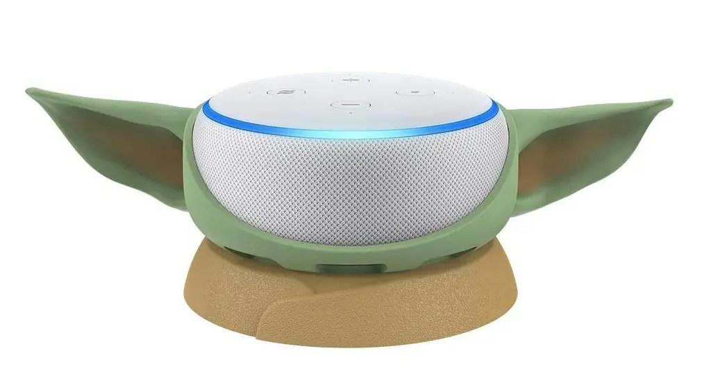 Turn your Amazon Echo Dot into Baby Yoda