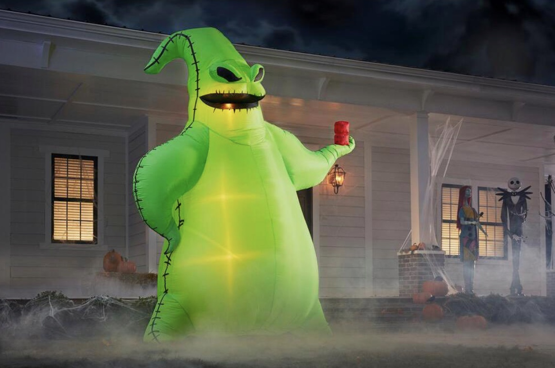 Home Depot is selling a 10′ Oogie Boogie Halloween display