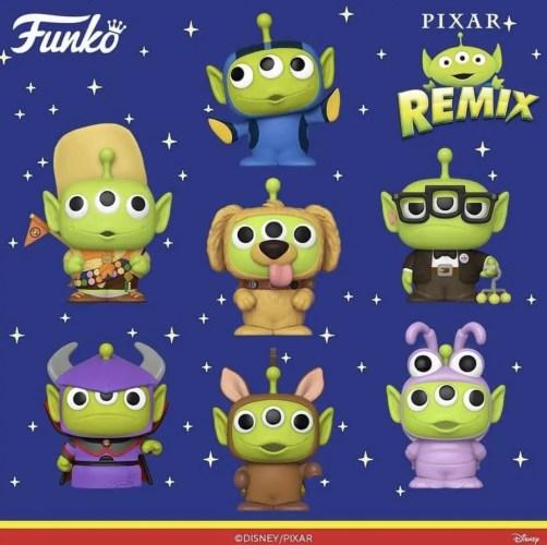 More of Pixar's Alien Remix Funko Pops on the way! 2