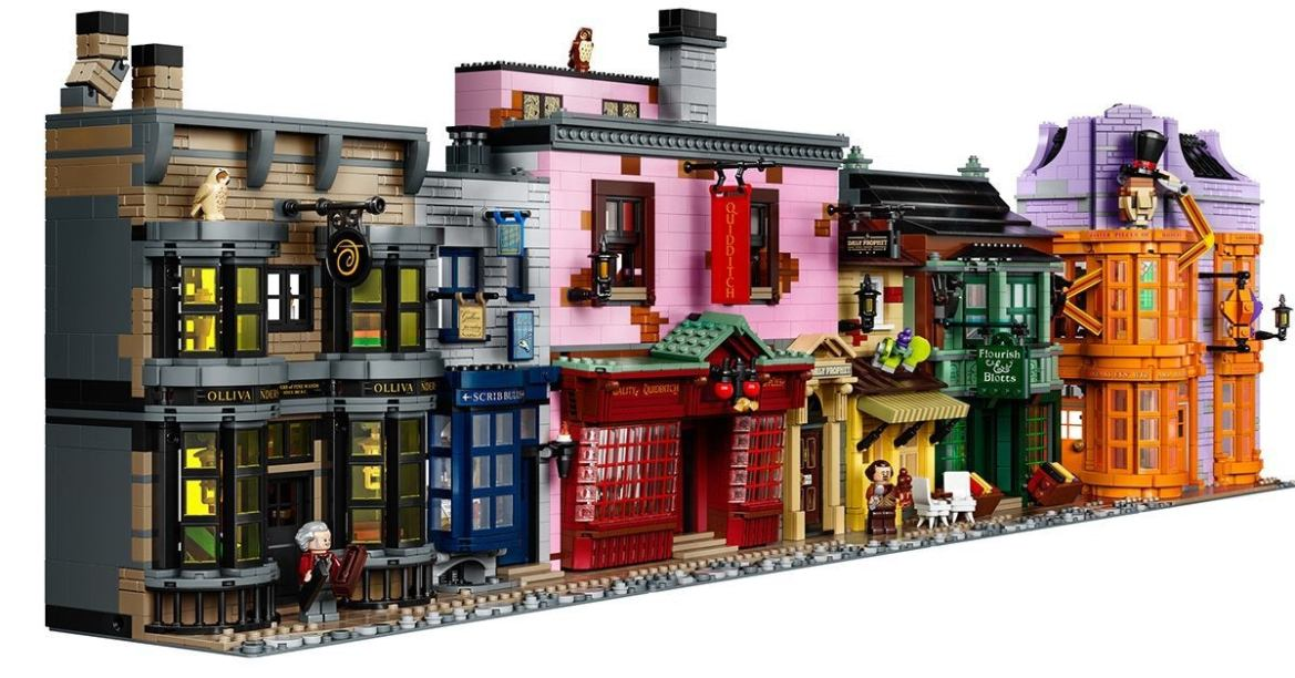 LEGO introducing new Diagon Alley set for Back to Hogwarts 2020