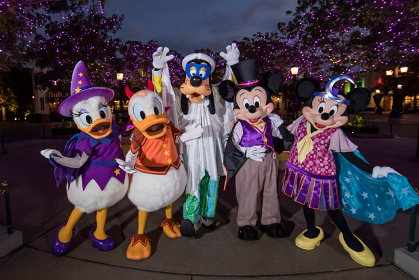 Halloween Character Cavalcade coming to the Magic Kingdom