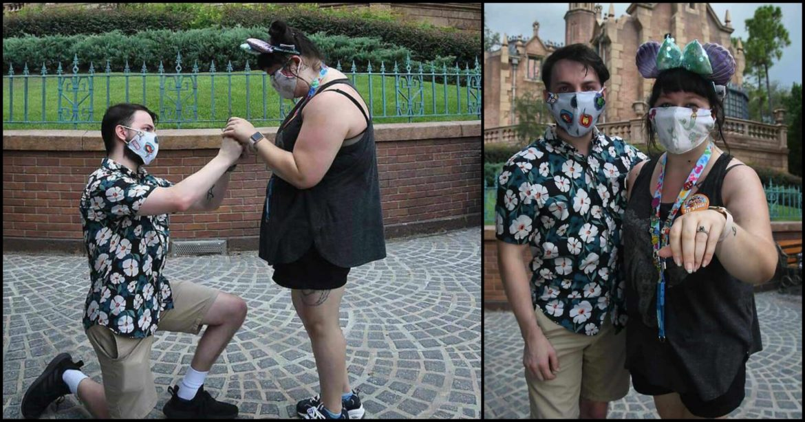 Guest Proposes in Front of 'The Haunted Mansion' During First Visit to Walt Disney World