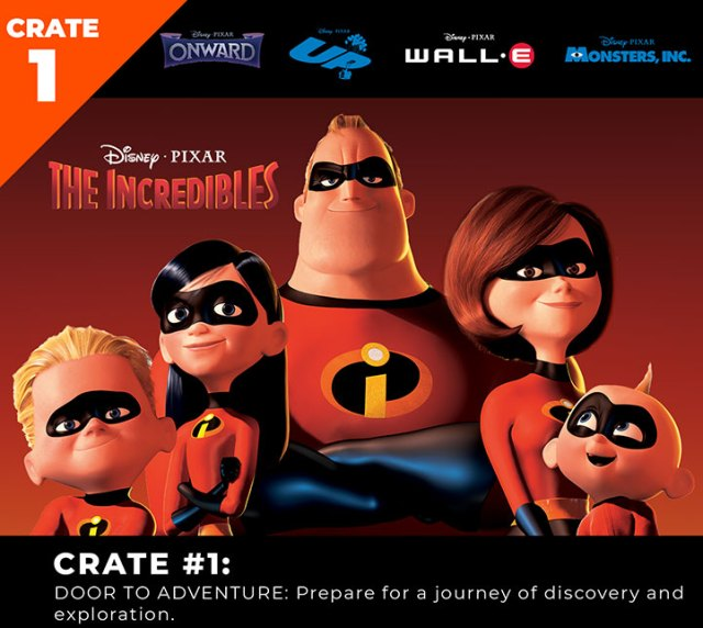 Pixar Loot Crate