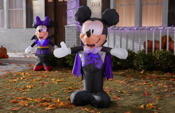 Home Depot is Featuring a New Line of Disney Inflatables Just in Time for Halloween 2
