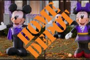 Home Depot Is Offering Mickey and Minnie Mouse Inflatables in Time for Halloween
