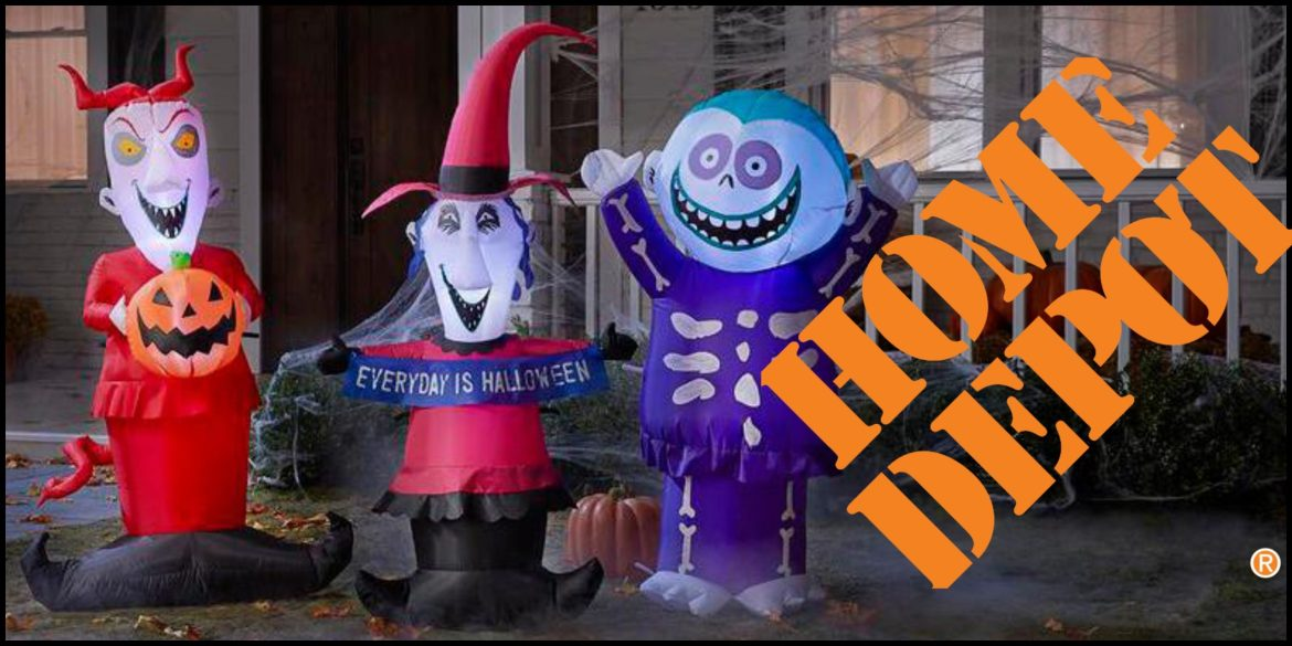 Home Depot Releases 'Nightmare Before Christmas' Inflatables for Halloween