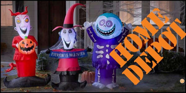 Home Depot Releases 'Nightmare Before Christmas' Inflatables for Halloween 1