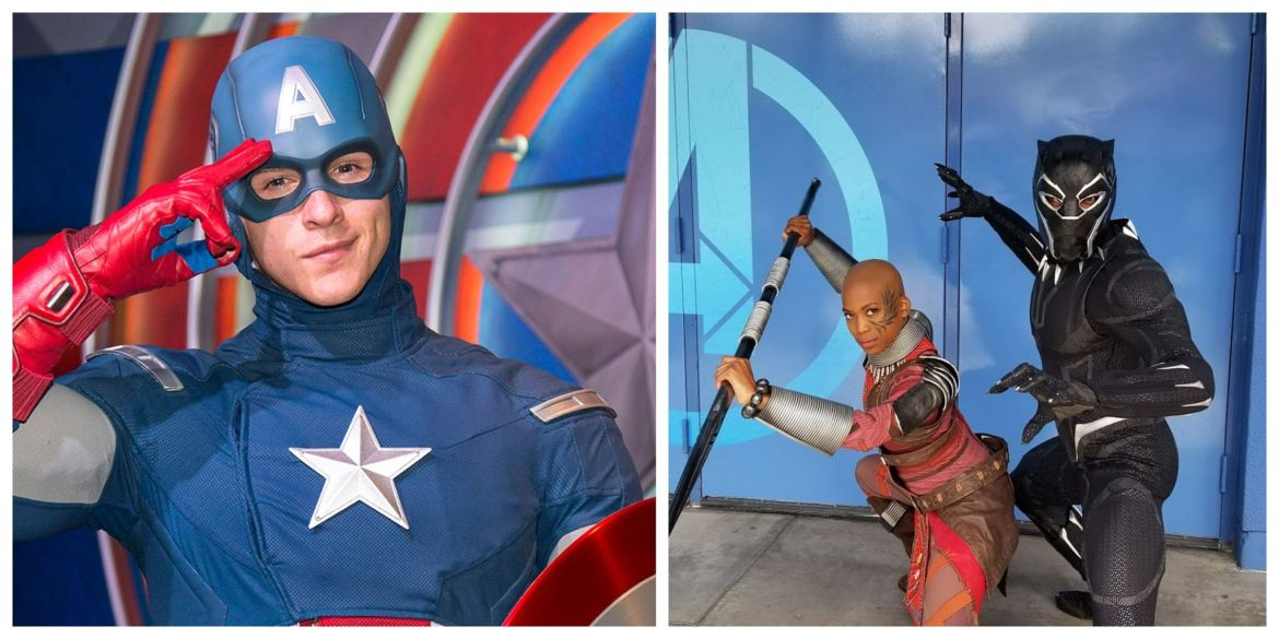 Disneyland is looking for Captain America and Black Panther Stunt performers