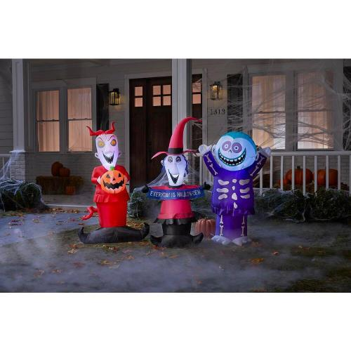 Home Depot Releases 'Nightmare Before Christmas' Inflatables for Halloween 4