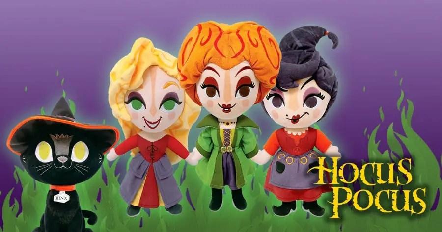 The New Hocus Pocus Plush Toys Have Us Running Amuck!