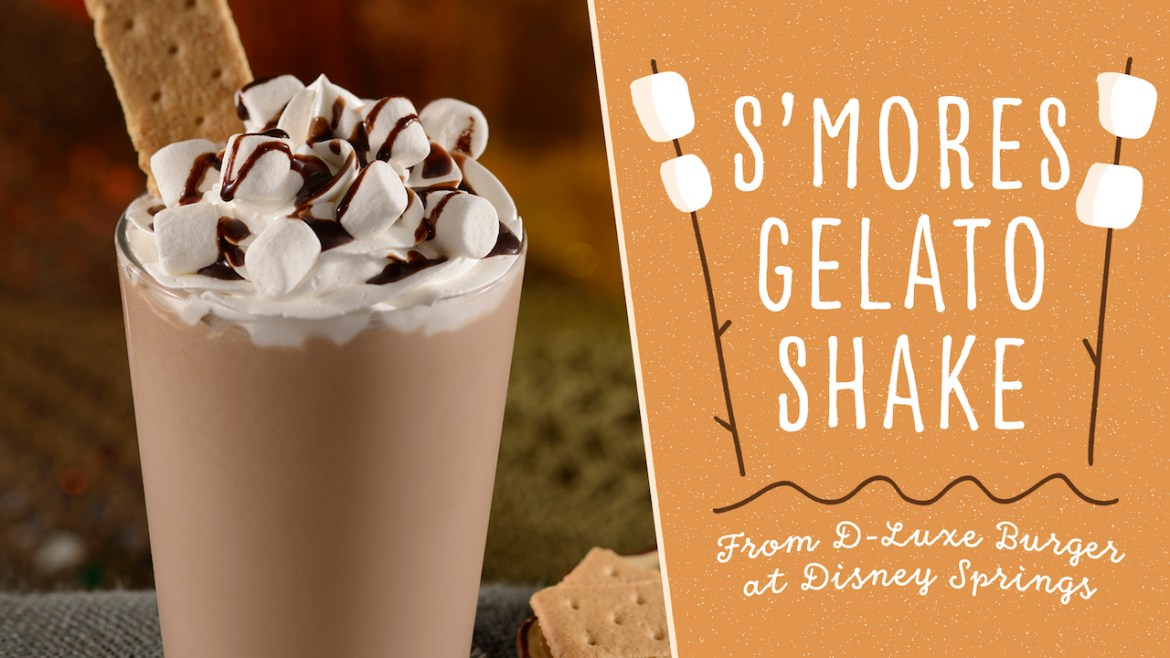 Celebrate National S'mores day with this Yummy Milkshake Recipe