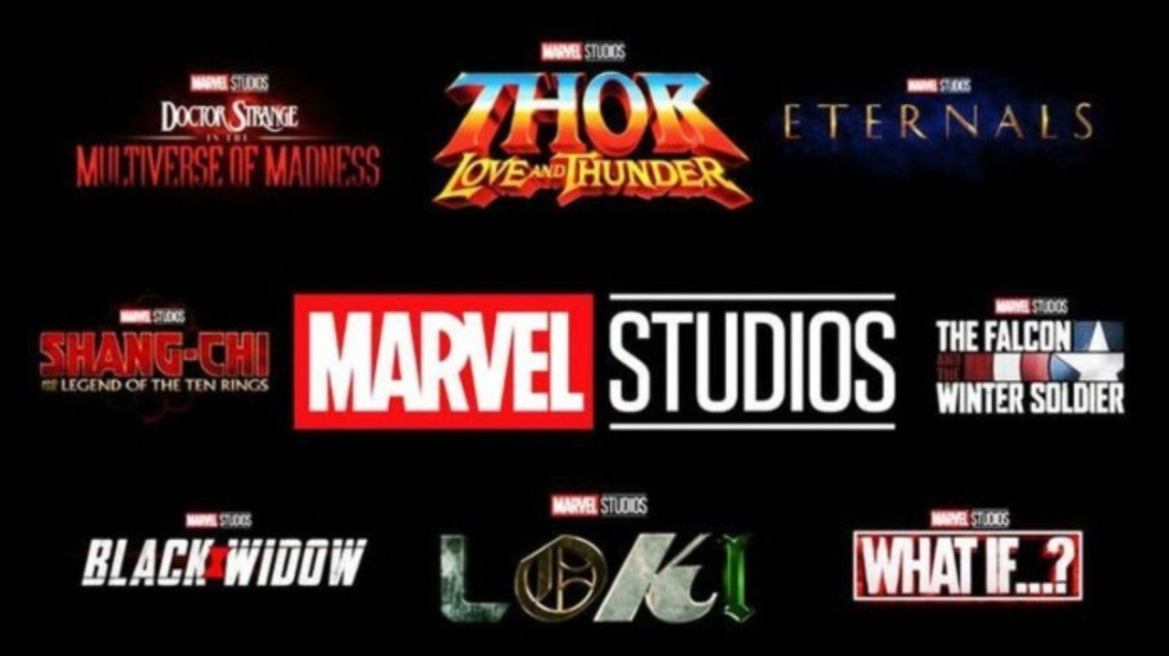 Marvel Studios Shares Updated MCU Phase 4 Release Schedule