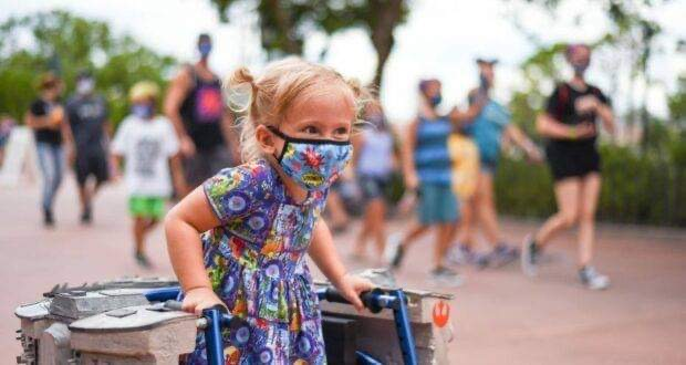 Little Girl with Spina Bifida Gains Strength by Walking Through Walt Disney World