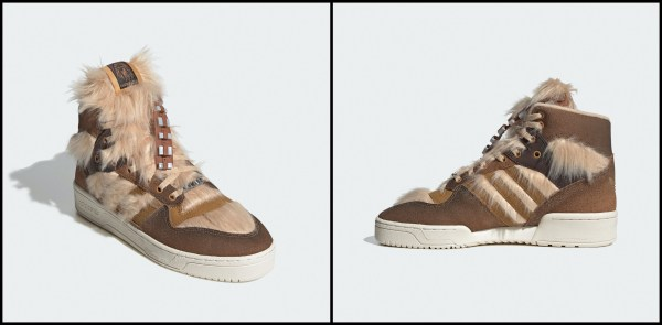Adidas and Star Wars Announce Limited-Edition Chewbacca Sneakers 2