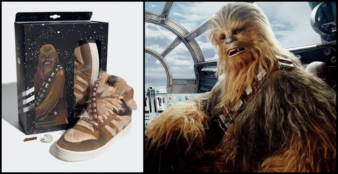 Adidas and Star Wars Announce Limited-Edition Chewbacca Sneakers
