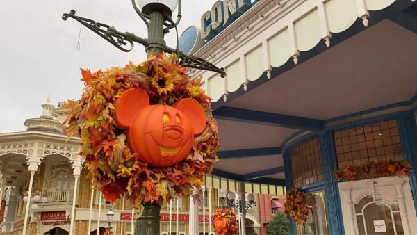 Fall has arrived at Disney's Magic Kingdom 1