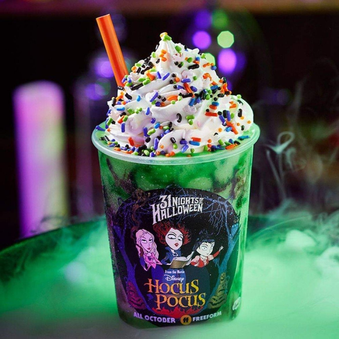 Hocus Pocus Shake & Limited Edition Cup at Carvel