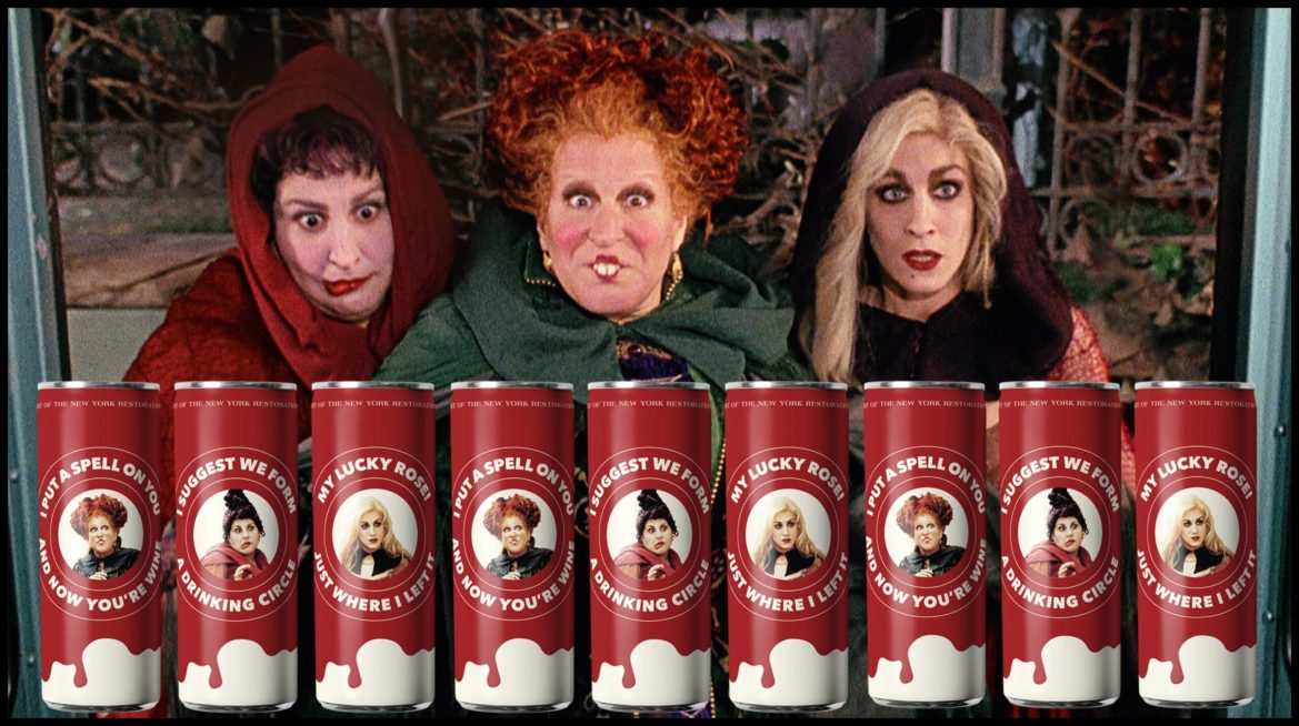 'Hocus Pocus' Sanderson Sisters Inspired Wines Now Available in Time for Halloween