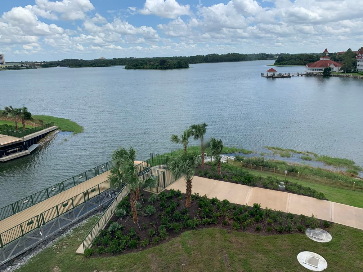 Bridge from Grand Floridian to Magic Kingdom Almost Complete